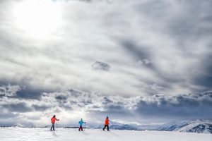 Nordic skiing Yellowstone National Park